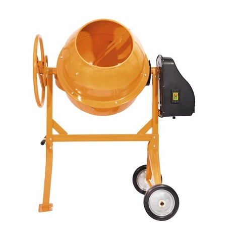 Betoniera MTX CM140, capacitate 140L, portocalie