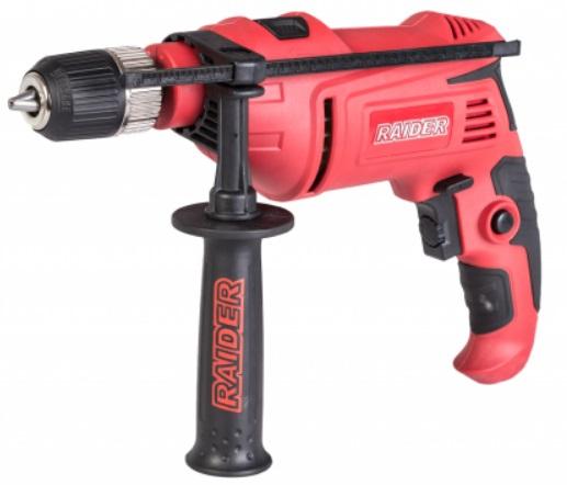 Bormasina cu percutie Raider RD-ID36, pentru beton, metal sau lemn