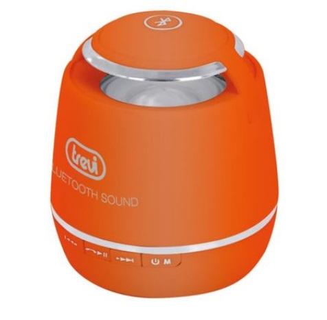 Boxa portabila portocalie Trevi, cu Bluetooth