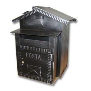 Cutie postala exterior Alubox Repp Italia - Compartiment colete