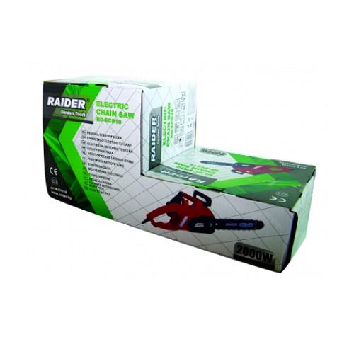 Drujba electrica Raider RD-ECS16 - Ambalaj