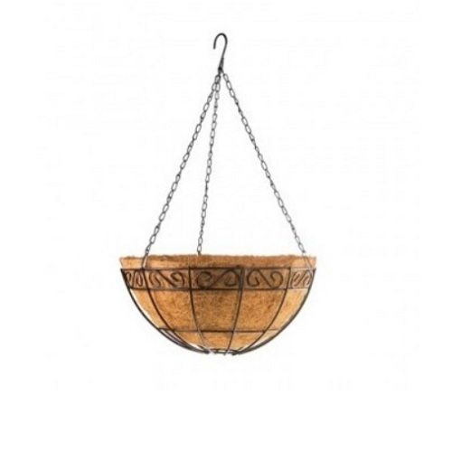 Ghiveci decorativ suspendat Palisad cu cos din cocos - Ghiveci Decorativ