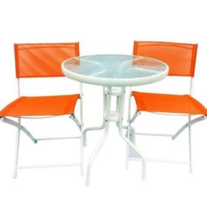 Set masa si scaune Strend Pro Gardenia Orange