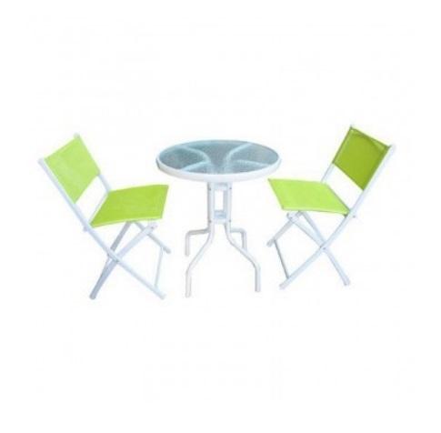 Set mobilier gradina sau terasa Strend Pro Gardenia Green