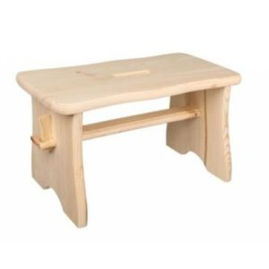 Scaun tip bancuta din lemn de pin Strend Pro