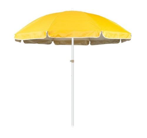 Umbrela galbena de plaja Strend Pro Willa Yellow