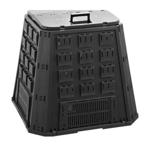 Compostor negru Strend Pro Evogreen, 400L