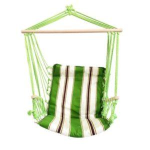 Hamac tip scaun suspendat Strend Pro Craig, culoare verde