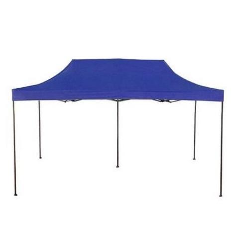 Pavilion mare pentru gradina, terasa sau camping, 3x6m, albastru