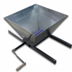 Zdrobitor manual de struguri 25L - Cuva din inox
