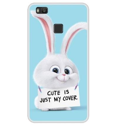 Husa Telefon Huawei P9 Lite - Iepure cu mesaj funny