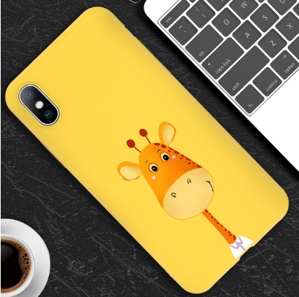 Husa Telefon iPhone 5, iPhone 6, iPhone 7, iPhone 8 TPU - Girafa