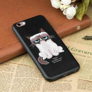 Husa Telefon iPhone - Grumpy Cat (Pisica Morocanoasa)