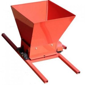Zdrobitor de Struguri manual FERMER HGP-50, Cuva 25 Litri