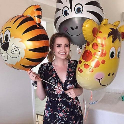 Baloane mari animale cu heliu pentru petreceri copii