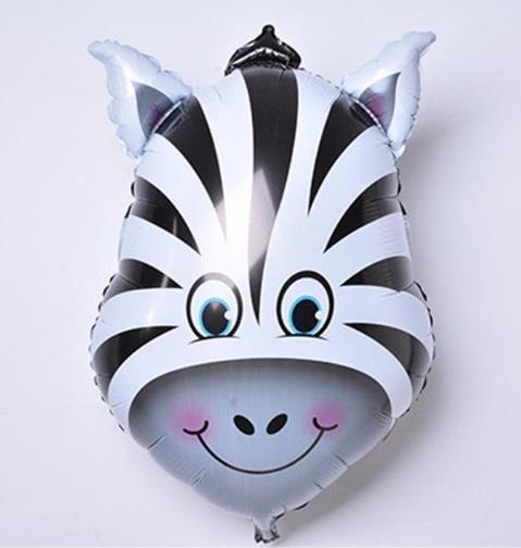 Balon mare pentru petreceri copii, model zebra