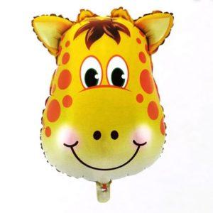 Balon mare cu heliu pentru petreceri copii, model girafa