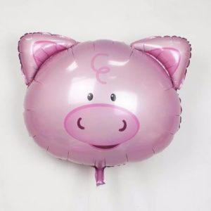 Balon mare pentru petreceri copii, model porc