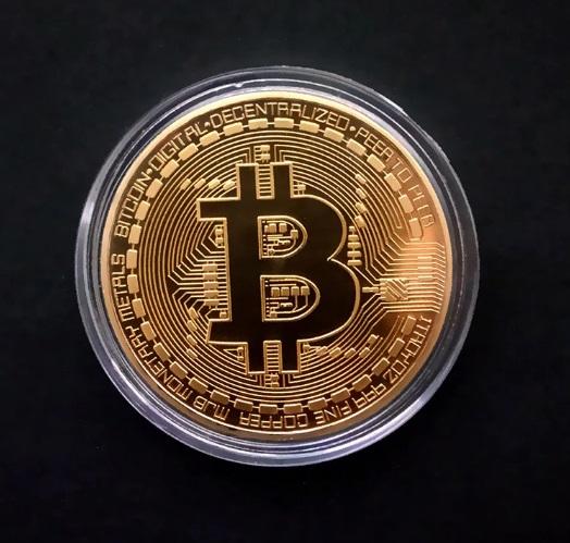 Moneda de colectie Bitcoin