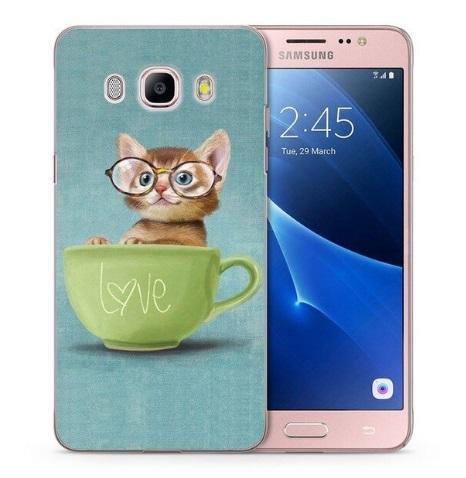 Husa Telefon Huawei J3 2017 J330 - Pisoi cu ochelari