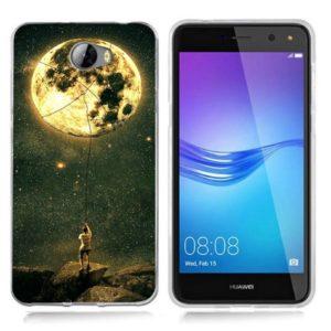 Husa Telefon Huawei P10 Lite - Barbat care prinde luna