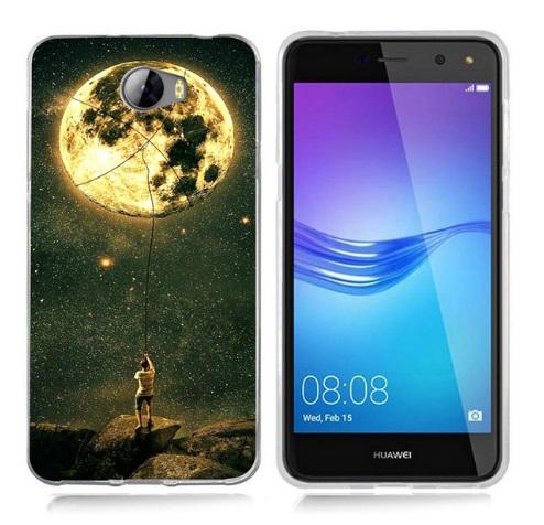 Husa Telefon Huawei P9 Lite 2017 - Barbat care prinde luna