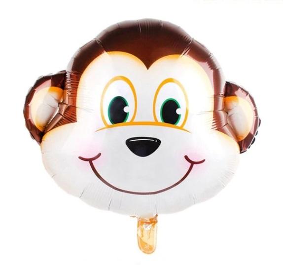 Baloane cu Heliu Animale - Maimuta, 60cm