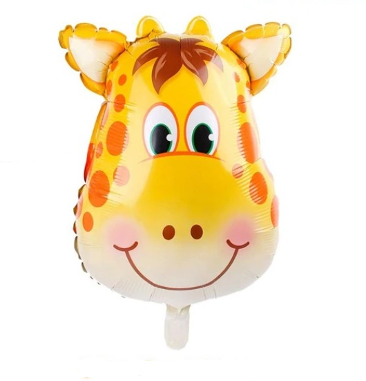 Baloane cu Heliu - Balon Mare Girafa, 63cm