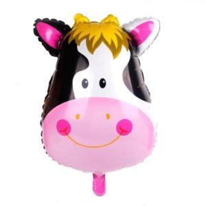 Baloane Animale - Balon Mare Vaca, 46x63cm, Heliu sau Aer