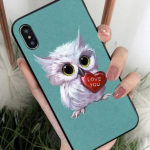 Husa Telefon iPhone - Bufnita cu Inima