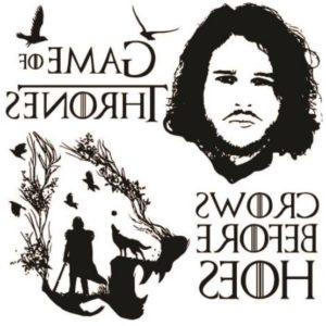 Tatuaje Temporare Game of Thrones - Jon Snow