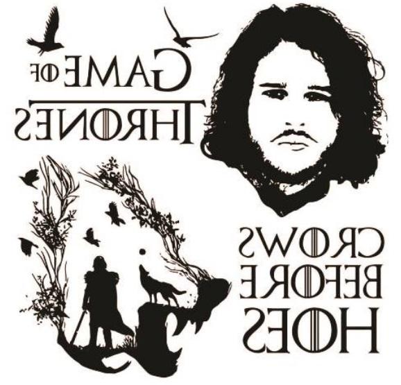 Tatuaje Temporare Game of Thrones - Jon Snow