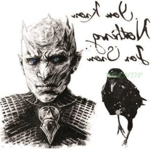 Tatuaje Temporare Game of Thrones - Night King