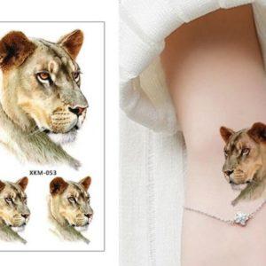 Tatuaje Temporare - Tatuaj cu Leoaica