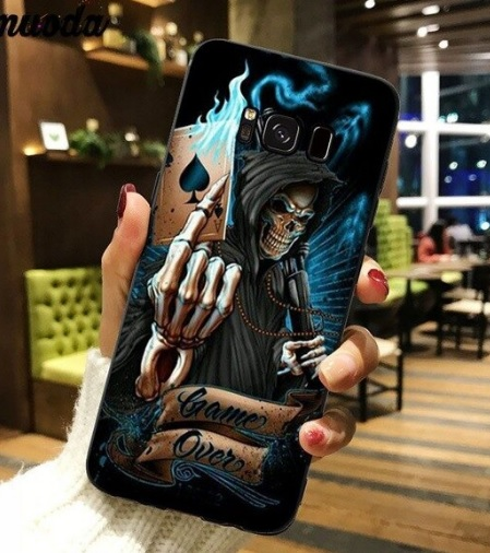 Husa Telefon Samsung Galaxy S8 Imprimata - Model Schelet Moartea