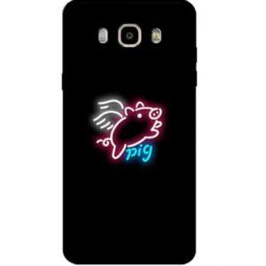 Husa Telefon Samsung Galaxy S9 – Imagine Printata Porc Zburator