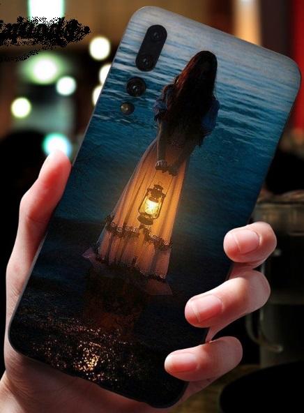 Husa Telefon Huawei P10 Plus - Imagine Printata Fata cu Felinar