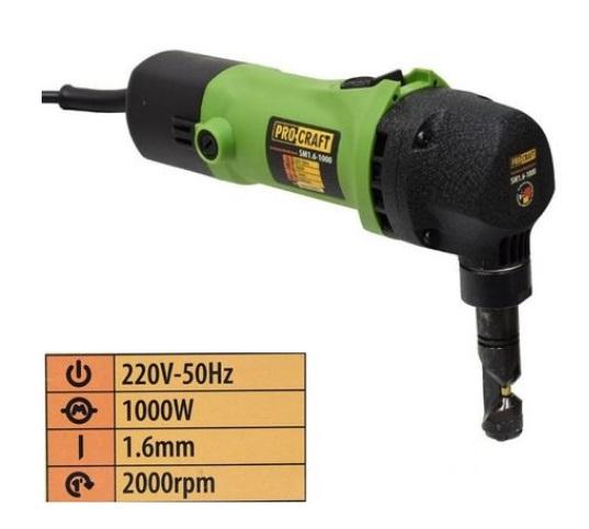 Foarfeca Electrica Pentru Taiat Tabla sau Metal Procraft SM1.6-1000