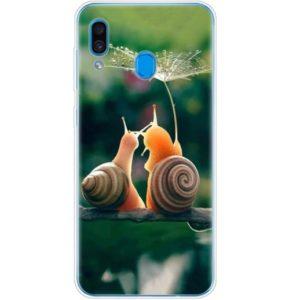 Husa Telefon Samsung Galaxy A20e - Melci cu Umbrela