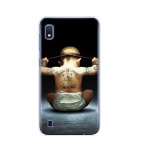Husa Telefon Samsung Galaxy A10 - Bebelus cu Tatuaje