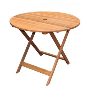 Masa pliabila din lemn Strend Pro Svendborg pentru Gradina sau Terasa