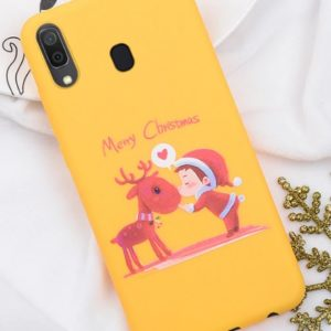 Husa Telefon Samsung Galaxy A10 - Model Ren si Elf - Merry Christmas