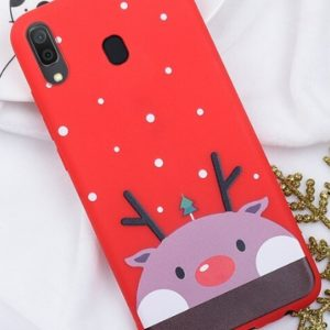 Husa Telefon Samsung Galaxy A20 - Culoare Rosie - Model Ren