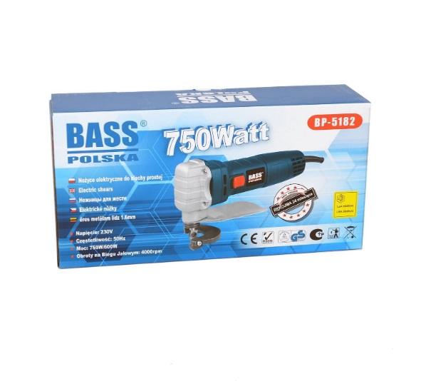 Foarfeca Electrica pentru Taiat Tabla Bass BS-5182 - Ambalaj