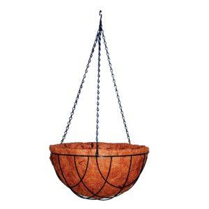 Ghiveci suspendat din cocos Strend Pro CocoH-24, lanturi, 35cm