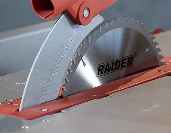 Abric Raider RDP-CWM01 - Circular taiere unghi inclinat