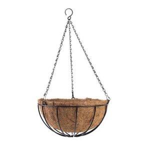 Ghiveci Suspendat din Cocos, cu Lanturi, Strend Pro CocoH-23, 30cm