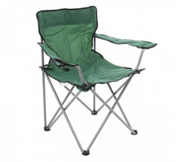 Scaun pliabil pentru pescuit / camping / gradina, culoare verde