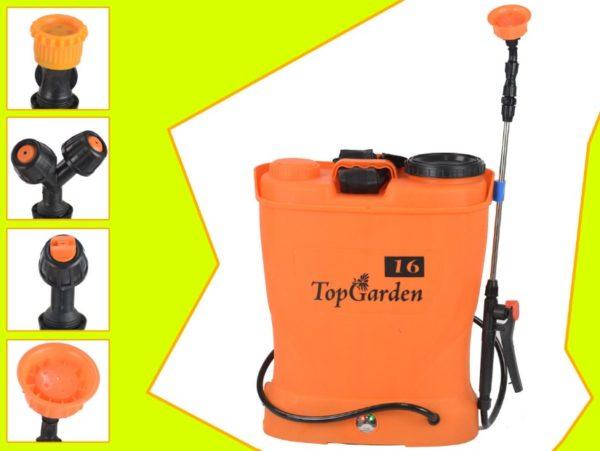 Vermorel electric profesional / pompa pentru stropit / pulverizator cu baterie Topgarden