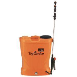 Vermorel / pompa pentru stropit / pulverizator cu baterie Topgarden, 16l